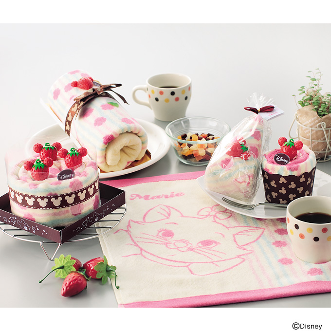 ケーキタオル