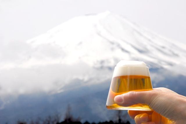 スガハラの富士山グラス