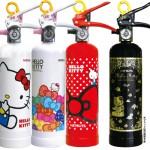 1台あると安心♪おしゃれな家庭用消火器