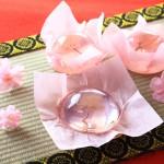 ぷるぷる美味しい♪見た目も楽しい♪桜ゼリー